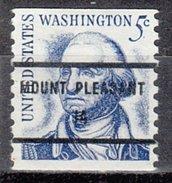 USA Precancel Vorausentwertung Preos Bureau Iowa, Mount Pleasant 1304-81