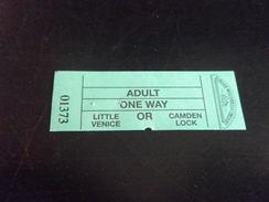 Ticket LONDRES LITTLE VENICE - Europe