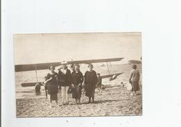 HYDRAVION CARTE PHOTO AVEC BELLE ANIMATION - 1919-1938