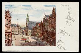 [031] Zwickau, Gel. 1902, Künstlerkarte, Städtebilder+Landschaften A.d. Erzgebirge - Zwickau