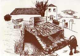 42 VILLEMONTAIS Vieux Lavoir,illustrateur - Autres Communes