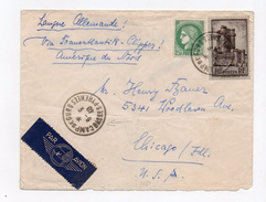 !!! LETTRE DU CAMP DE GURS DU 3/9/1940 POUR LES USA PAR CLIPPER - Marcofilia (sobres)
