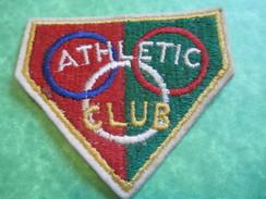 Ecusson  Tissu / Sport/ Athletic Club / Vers 1960-1970      ET147 - Athlétisme