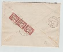 1941 - ENVELOPPE De VICHY (ALLIER) Avec TAXE De BOZEL (SAVOIE) - Marcophilie (Lettres)