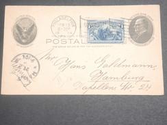 ETATS UNIS - Entier Postal + Complément De Philadelphie Pour Hambourg En 1904 - L 7108