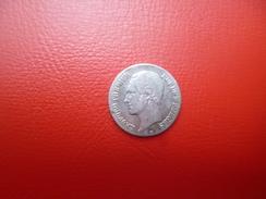 LEOPOLD 1er 20 CENTIMES 1853 ARGENT (L.W) QUALITE:VOIR PHOTOS - 1831-1865: Léopold I
