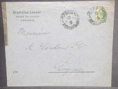 RUSSIE / POLOGNE - Enveloppe Commerciale De Varsovie Pour La France En 1897 - L 7110 - 1857-1916 Imperium