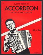 7840 M - Methode Pour Accordeon De John L. Philip - Aprendizaje