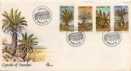 TRANSKEI - FDC 1980 - UMTATA - PALME  - FORESTRY - Vegetazione