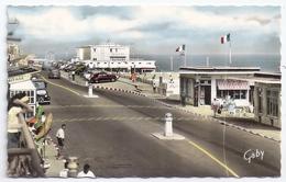 CPSM Photo Luc Sur Mer Calvados 14 Le Casino Municipal Rue Guynemer Vieux Tacots Archi Auvray éditeur Artaud N°14 - Luc Sur Mer