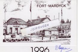 Fort Mardyck Voeux De Roméo Ragazzo 1996 : Mairie ( Carte Double - Nouvel An