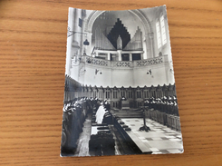 """CPSM """"DOURGNE (81) - Abbaye Ste-Scholastique - Choeur Des Moniales"""" (animée) - Dourgne"""