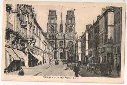 ORLEANS. LA RUE JEANNE D'ARC. 1936. - Orleans