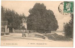 MELUN. Promenade De Vaux. 1924. - Melun