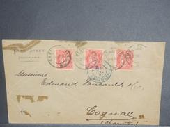 NORVÈGE - Enveloppe De Christiania Pour La France En 1891 - L 7130 - Briefe U. Dokumente