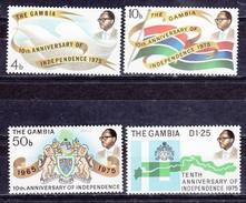 Gambia  Cat;: Y&T Neufs, Postfris, MNH  (XX) Nr 304-307 - Gambie (1965-...)