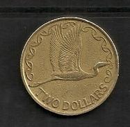 NEW ZEALAND $2 1990 Queen Elisabeth - Nouvelle-Zélande