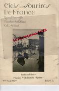 69 -VILLEFRANCHE-REVUE CIEL SOURIRE DE FRANCE-LABORATOIRE FLUXINE- N° 4-1929-PORQUEROLLES-LA REDONNE-NU-NUDE-MARTIGUES - Health
