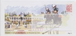 Nouvelle Calédonie Nouméa La Caserne Gally Passebosc Le Monument Aux Morts - Prêt-à-poster
