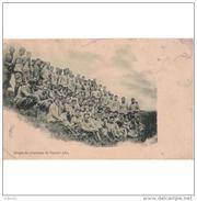 MLTTP0502ACPA-LFTM236TFOT.Tarjeta Postal De España.ACADEMIA MILITAR.Alumos De 3º Año.FOTO DE FIN DE CURSO. - Fotografía