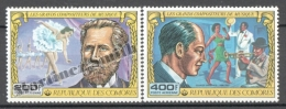 Comores - Comoros 1978 Yvert A 139-40, Great Music Composers - Air Mail - MNH - Comores (1975-...)