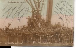 LA GUERRE 1914 - 15  Infanterie Anglaise - Guerra 1914-18