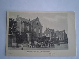 Halle - Hal  //  Ecole Moyenne De L'Etat - Pensionnat // Ca 1900 - Halle