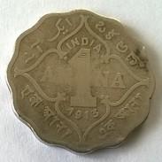 Monnaies - India - George V - 1 Anna 1913 - - India