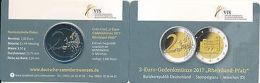 Deutschland 2017 D - 12. Offizielle Klappkarte Coin Card 2 Euro Rheinland-Pfalz - Germany