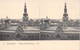 ¤¤   -   DANEMARK   -  Carte Stéréo  -  Chateau De Frederiksborg    -   ¤¤ - Danemark