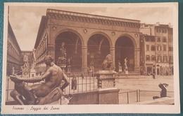 FIRENZE - Loggia Dei Lanzi - Epoca 1935 Nv - Firenze