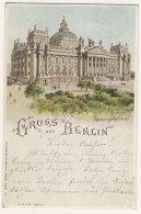 Gruss Aus Berlin Reichstags Gebäude - Tiergarten