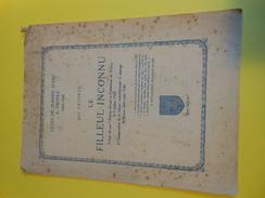 Plaquette à 2 Volets ( 4 Pages)/ Le Filleul Inconnu/José LECONTE/Les Fêtes De Jeanne D'Arc à TROYES /1929     VPN77 - Advertising