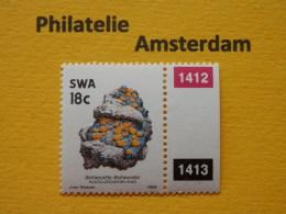 South West Africa 1990, MINERALS MINERALEN MINÉRAUX MINERALIEN: Mi 654, Type X II, ** - Minerals