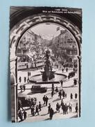 Blicj Auf Bahnhofplatz Und Bahnhofstrasse () Anno 1951 ( Zie Foto's Voor Detail ) !!! - ZH Zurich