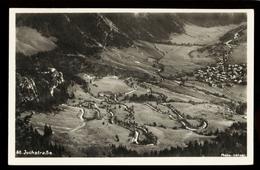 [032] Jochstraße = Adolf-Hitler-Paß, Hintelang - Oberdorf, ~1940, Verlag Letzer (Hintelang) - Oberstdorf