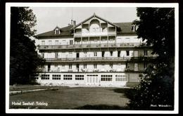 [032] Tutzing, Hotel Seehof, Gel. 1960, Verlag Wörsching (Starnberg) - Tutzing