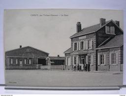 80 - CHEPY PAR VALINES - LA GARE - ANIMEE - Autres Communes