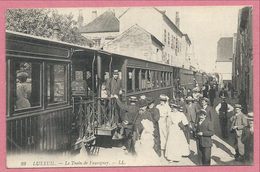 70 - LUXEUIL - Le Train De FAUCOGNEY - Editions L.L. N° 89 - Annimation - Luxeuil Les Bains