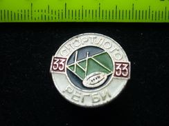 Soviet Rugby - USSR Pin - Rugby