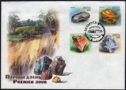 Belarus 2000  FDC Minerals Of Belarus Mineraux - Minerali