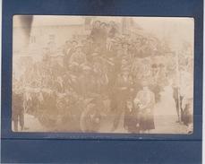 GUNY  ?  ( AISNE )  Carte Photo Carnavalesque   1926 - France