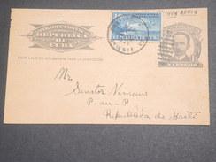 CUBA - Entier Postal De Santiago De Cuba Pour Port Au Prince En 1939 - L 7175 - Cuba