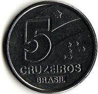 Brazil 5 Cruizeiros 1990 - Brasilien