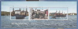 Greenland MNH 2013 Souvenir Sheet 22.50k 'Nordafar' Fishing Venture - Joint With Faroe Islands - Groenland