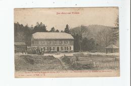 AU COL DE SAINTE MARIE AUX MINES (68) ALT 780 M COL FRONTIERE AVANT LA GUERRE DE 1914 1915 (AUROBUS ET HOTEL BELLE VUE) - Sainte-Marie-aux-Mines