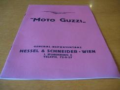 Depliant Brochure Prospekt Moto Guzzi 1925 - Motorräder