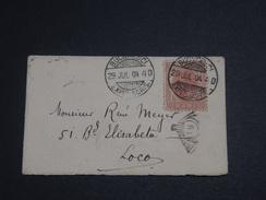 ROUMANIE - Enveloppe De Bucarest En 1904 - L 7190 - 1881-1918: Charles I