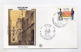 Italia - 1987 - Busta FDC - Napoli - Scuola Militare Nunziatella - Con Doppio Annullo Napoli - (FDC4156) - 1946-.. République