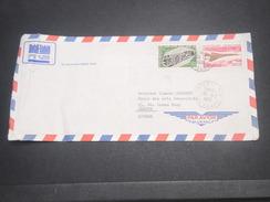 POLYNÉSIE - Enveloppe De Papeete Par Avion Pour Genève En 1969 , Affranchissement Plaisant - L 7192 - Briefe U. Dokumente